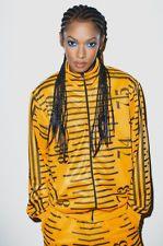 Adidas Jeremy Scott JS Tape Measure Tracksuit Track Top Pants Suit Gold Rare New