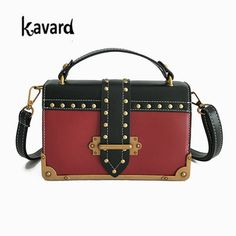 2d90ab2aea98 Bandoulière Rivet sac pour les femmes sac à main femmes célèbre designer de  la marque sacs