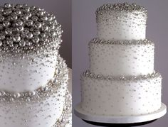 silver wedding decorations, I've decided that I can compromise on this whole graduation cake dilemma. I would like this one instead with orange and black. :)
