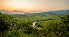 Enjoy a romantic sunset safari at the Humala River Lodge in the Songimvelo Reserve. River Lodge, Africa Travel, Tour Guide, South Africa, Safari, Tours, Romantic, Explore, Sunset