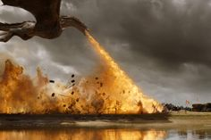 """Drogon (from episode 4, """"The Spoils of War"""")"""