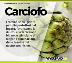 artichokes are the main protector foods .- Lo sapevi che… i carciofi sono i principali cibi protettori del fegato Did you know that … artichokes are the main foods that protect the liver – the - Healthy Tips, Healthy Eating, Healthy Recipes, Fitness Diet, Health Fitness, In Natura, Keto Nutrition, Juice Plus, Greens Recipe