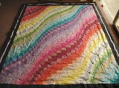 Sewing Like It's Going Out Of Style: Wavy Bargello Quilt