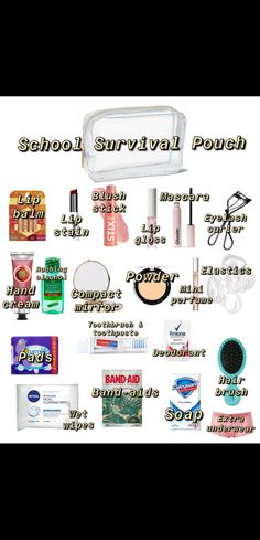 Middle School Lockers, Middle School Supplies, Middle School Hacks, High School Hacks, High School Life, Life Hacks For School, School Study Tips, School Routine For Teens, Morning Routine School