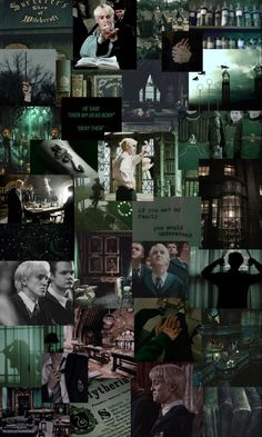 slytherin draco malfoy aesthetic iphone wallpaper