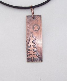 This pretty little pendant measures by 1 The design has been hand drawn, then etched and given a patina for depth and character. Enamel Jewelry, Copper Jewelry, Wire Jewelry, Pendant Jewelry, Jewelry Crafts, Jewelery, Mixed Metal Jewelry, Artisan Jewelry, Handmade Jewelry
