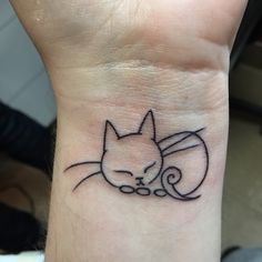 Cat tatt done on 12/4/14  woot woot