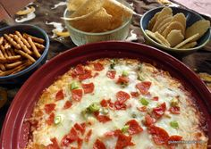 Getting Started Naturally Gluten-Free Pizza Dip (with Dairy-Free Option) Gluten Free Appetizers, Recipes Appetizers And Snacks, Gluten Free Pizza, Gluten Free Treats, Gluten Free Cooking, Low Sugar Recipes, Wheat Free Recipes, Allergy Free Recipes, Gf Recipes