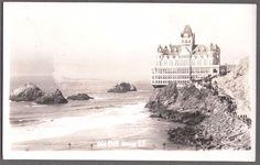 VINTAGE RPPC 1905 CLIFF HOUSE SAN FRANCISCO CALIFORNIA HISTORIC PHOTO POSTCARD