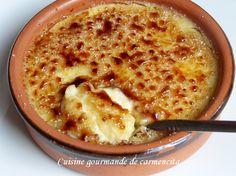 Crème catalane http://www.carmen-cuisine.com/2015/07/creme-catalane.html