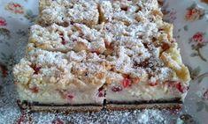 Tvarohovo-ríbezľový koláč - Koláčik je veľmi chutný, jednoduchý, vhodný na nedeľné popoludnie.