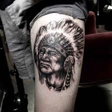 What does indian tattoo mean? We have indian tattoo ideas, designs, symbolism and we explain the meaning behind the tattoo. Native American Tattoos, War Bonnet, Indian Tattoos, Body Painting, Henna, Tattoo Designs, Skull, Ink, Face