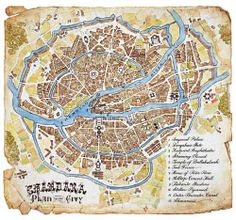 Gurney Journey: Worldbuilding with Maps