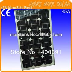 (116.00$)  Watch more here - http://aiyy4.worlditems.win/all/product.php?id=731160954 - 45W 18V Monocrystalline Solar Panel Module with 36 A Grade Mono Solar Cells, Nice Appearance, Good Performance, Long Lifecycle