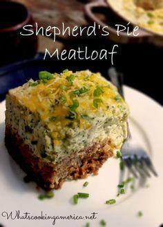 Sherpherds Pie Meatloaf