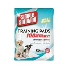 SIMPLE SOLUTION ORIGINAL TRAINING PADS -- Click on the image for additional details. (This is an affiliate link and I receive a commission for the sales)