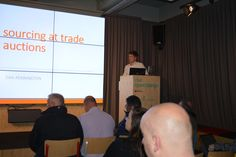 Dan at Ibidder talking about Sourcing at Trade Auctions