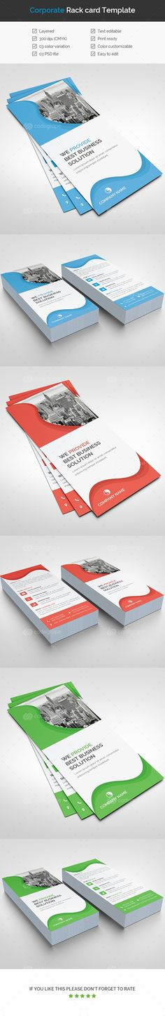 Dj  Rack Card And Business Card Template  Nit Free Noggin