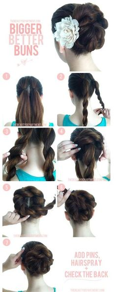 Latest Party Hairstyles Tutorial Step by Step with Pictures   StylesGap.com