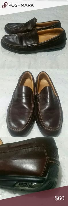 Sperry Top Sider Mens Memory foam cushion Gold Cup Collection. RSV Technology.Real Good condition.Leather Sperry Top Sider Shoes Loafers & Slip-Ons