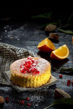 TARTA DE ALMENDRA Y NARANJA Cheesecake, Desserts, Food, Deserts, Orange, Pies, Tailgate Desserts, Cheesecakes, Essen