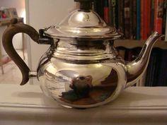 Cute, cute solid silver teapot!