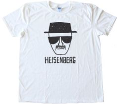 BREAKING BAD HEISENBERG DRAWING - design silscreened onto a Gildan Softstyle white tee shirt for men. Printed on 100% Ring-Spun Cotton and printed with water-based inks for ultra-softness. Euro style fit in neck shoulders and sleeves, Double needle sleeves and bottom hem. These shirts are comfortable, durable and super-soft 4oz cotton!