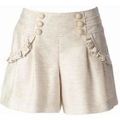 Designer Clothes, Shoes & Bags for Women High Waisted Shorts, Casual Shorts, Dress With Cardigan, Pants Pattern, Pants Outfit, Short Girls, Blouse Designs, Trousers, Plus Size