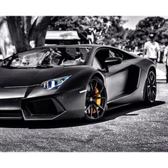 The one and only Lamborghini Aventador
