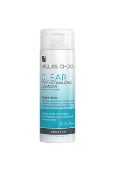 I've used this product as a morning cleanser.  I have the occasional blemish, but I use this product to mainly help prevent clogged pores.  This cleanser  is drying for my skin, so I have to use a moisturizer.