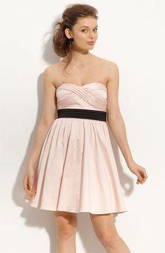 Light pink strapless dress - Nordstrom