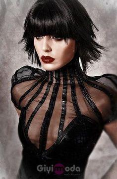 Official model mayhem page of ANA POPESCU; member since Mar has 30 images, 1202 friends on Model Mayhem. Tribal Fusion, Dark Fashion, High Fashion, Fetish Fashion, Women's Fashion, Dark Black, Fashion Details, Fashion Design, Glamour