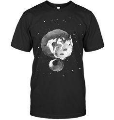 Husky on The Moon T Shirt Husky Guy, Moon, Mens Tops, T Shirt, Style, The Moon, Supreme T Shirt, Swag, Tee Shirt