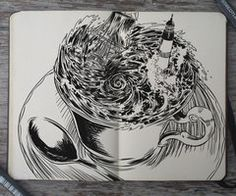 #149 Storm in a Teacup by 365-DaysOfDoodles
