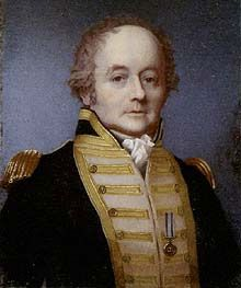 Vice Admiral William Bligh, FRS, RN (9 September 1754 – 7 December 1817) was an officer of the British Royal Navy and a colonial administrator. Three historic mutinies occurred under his command: The HM Bounty, the Nore and the Run Rebillion in New South Whales. Yet he was considered a capital seaman and good comander.
