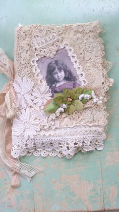 Tattered Lace Book by Bears and Old Lace