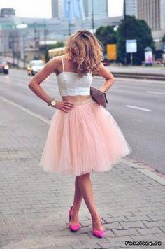 (+1) сообщ - Street Style: юбка балерины | Мода