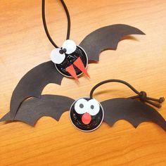 Manualidades para Halloween: murciélagos con cápsulas de café