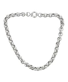 Look what I found on #zulily! Sterling Silver Ovalina Necklace #zulilyfinds