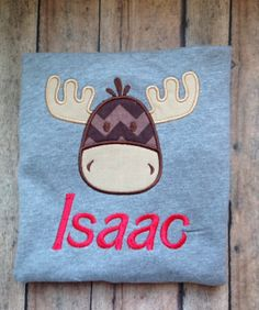 Moose chirstmas shirt by NoOdLeSBoutique on Etsy, $18.00
