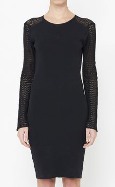 Yves Saint Laurent Black Dress
