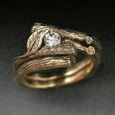 A ring from the forest on Ancient Celts