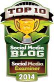 Top 10 Social Media Blogs: The 2014 Winners! http://www.socialmediaexaminer.com/top-10-social-media-blogs-2014-winners/