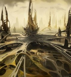 Concept Art World » Ender's Game Concept Art by David Levy