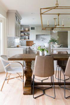 Studio McGee beautiful kitchen dining area