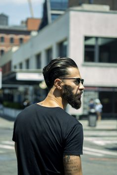 Summer hair style with this pomade.