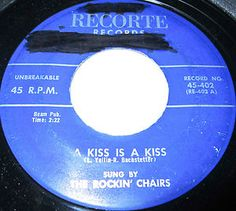 The Rockin' Chairs all friends from Queens Village and Long Island, New York, were basically an instrumental dance group, who played at record hops. Theywere formed in 1955 and about three years later, at a dance, met Alan Fredericks, who licked them so much that he became their manager. Alan was a friend to the owner of Recorte Records and when the guys auditioned,they were signed on the Spot . The personnel was as follows : Lenny Dean (Lead Singer & Sax)....