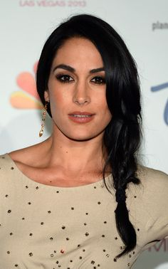 Brie Bella 2013 | Professional wrestler Brie Bella arrives at the 2013 Miss USA pageant ...