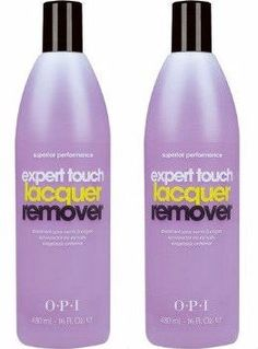 OPI Expert Touch Lacquer Remover, 16 Fluid Ounce Pack Of Two ** Click image to review more details. This is an affiliate link.