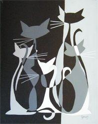 Cats - El Gato Gomez Art